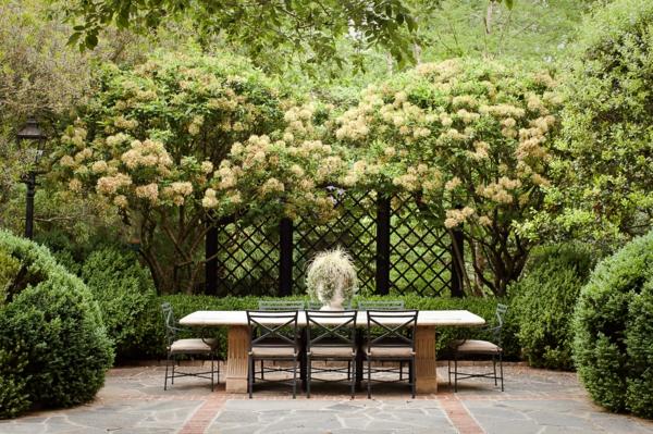 treillis-de-jardin-un-panneau-treillis-et-salon-de-jardin-élégant