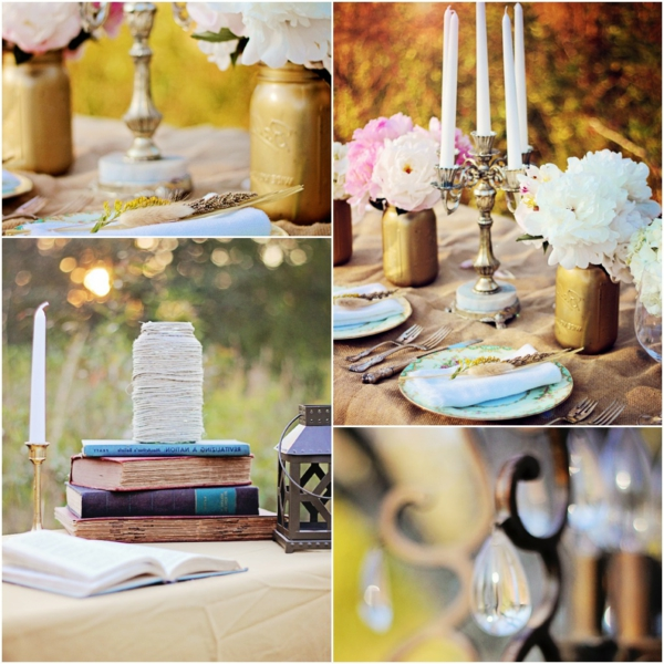vintage-style-et-rustique-ameublement-et-décoration-avec-des-vases