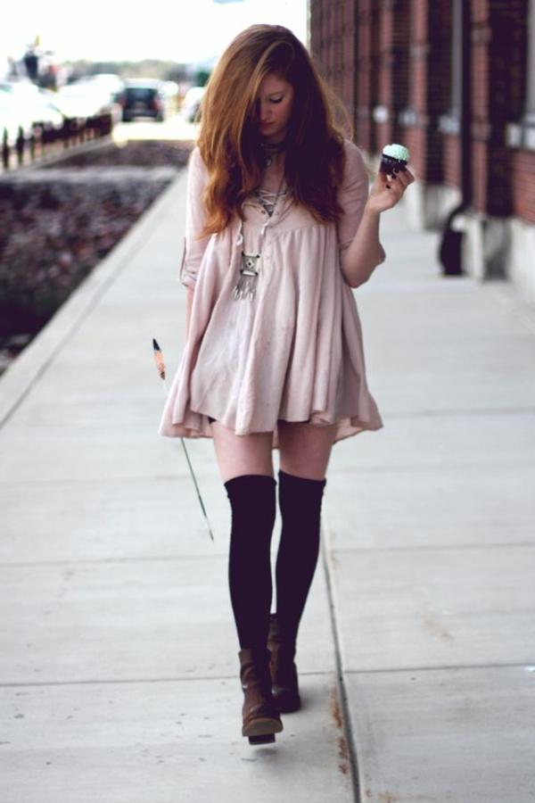 robe-trapèze-à-la-mode-ootd-tenue-du-jour-comment-porter-une-robe-trapèze-plus-patisserie