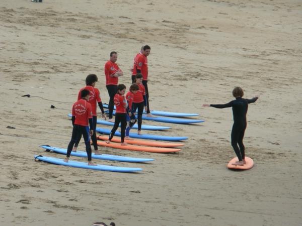 école-de-surf-Biarritz-préparation-pour-l'eau