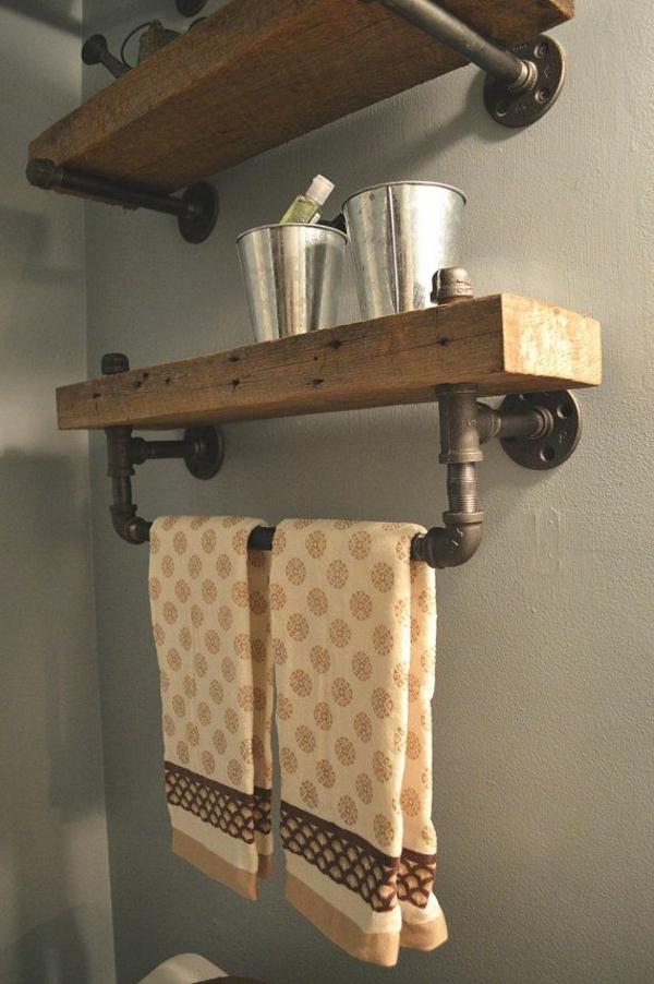Design pour tag re comment on peut choisir une tag re - Etagere en bois pour salle de bain ...