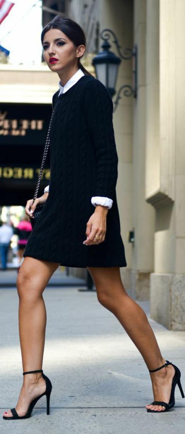 1-chaussures-à-talon-noir-robe