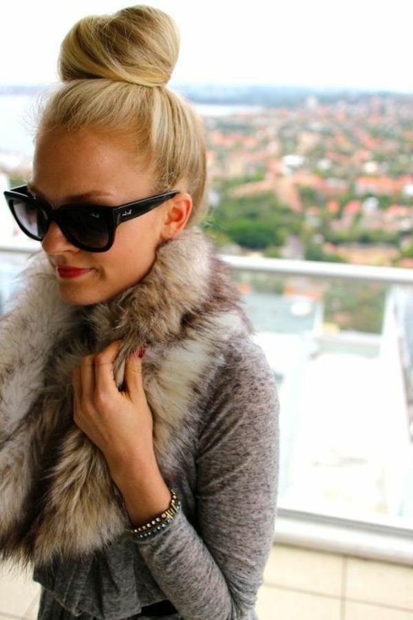 1-chignon-romantique-blonde-femme