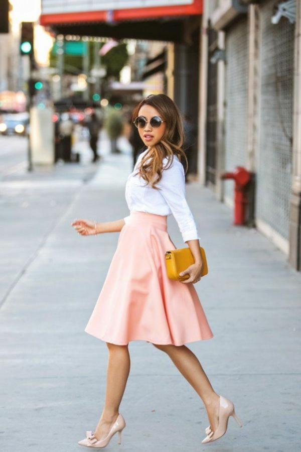 1-comment-porter-une-jupe-longue-rose