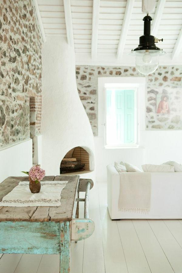 L architecture grecque va vous inspirer pour faire un for Maison blanche classique