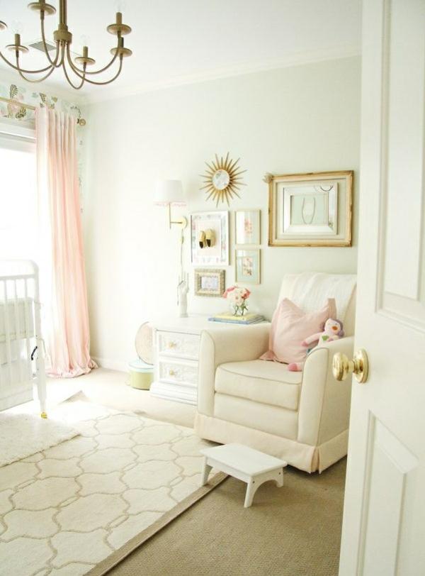 Chambre-bébé-fille-pièce-enfant-beauté-rose-pièce