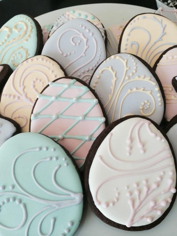 Décoration-de-table-pour-la-fête-de-Pâques-cookies