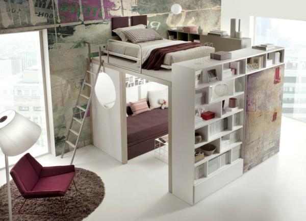 Design-chambre-à-coucher-petite-espace-comment-amenager