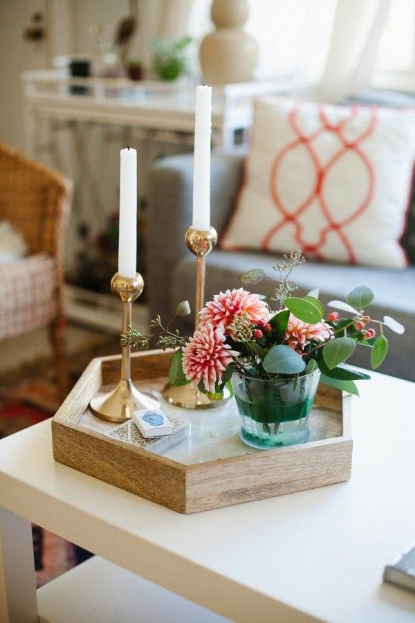 Idées-créatives-pour-la-décoration-salon-avec-combination-florale