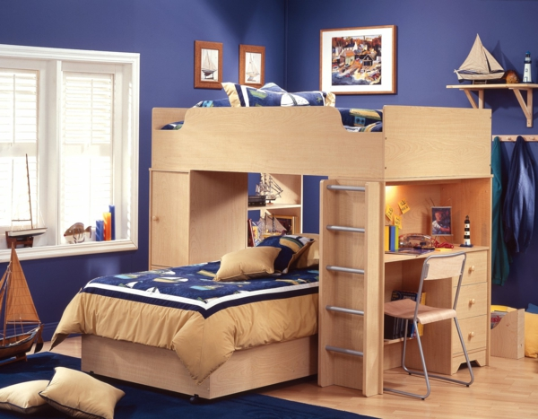 Mobilier-modulaire-pour-gaigner-espace-chambre-enfant