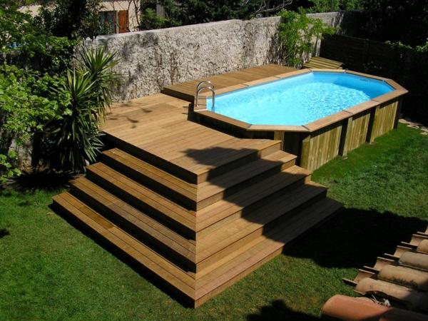 piscine hors sol en bois - Amenager Une Piscine Hors Sol