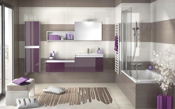 mosaique violette salle de bain images. Black Bedroom Furniture Sets. Home Design Ideas