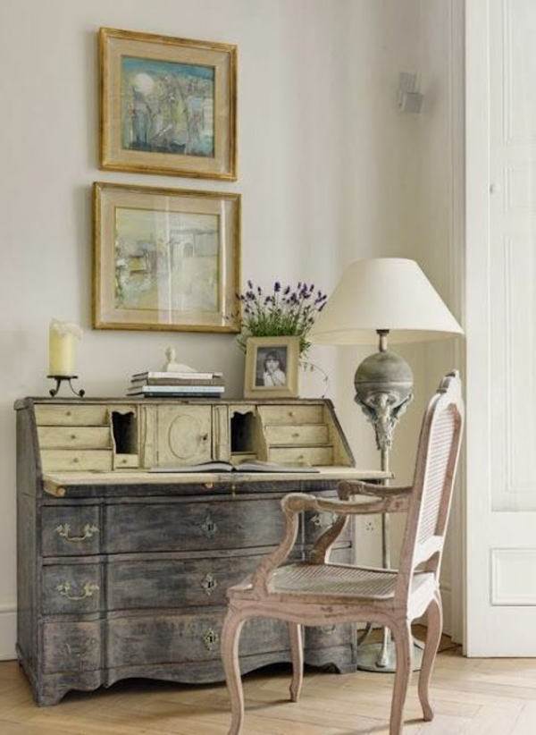 Vintage-salon-de-style-de-gustave-inspiration-intérieur