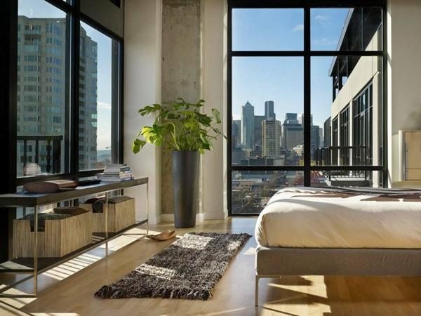 aménagement-arbre-chambre-à-coucher-jolie-ambiance-proche-de-la-nature-plante-lit