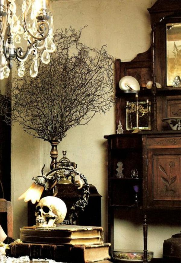 aménagement-gothique-maison-salon