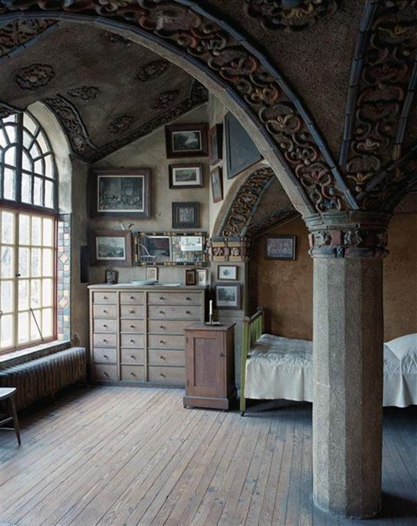 aménagement-gothique-maison