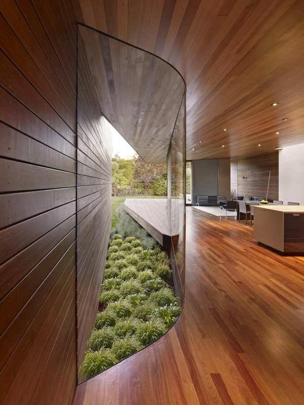 aménagement-organique-maison-en-bois-chambre