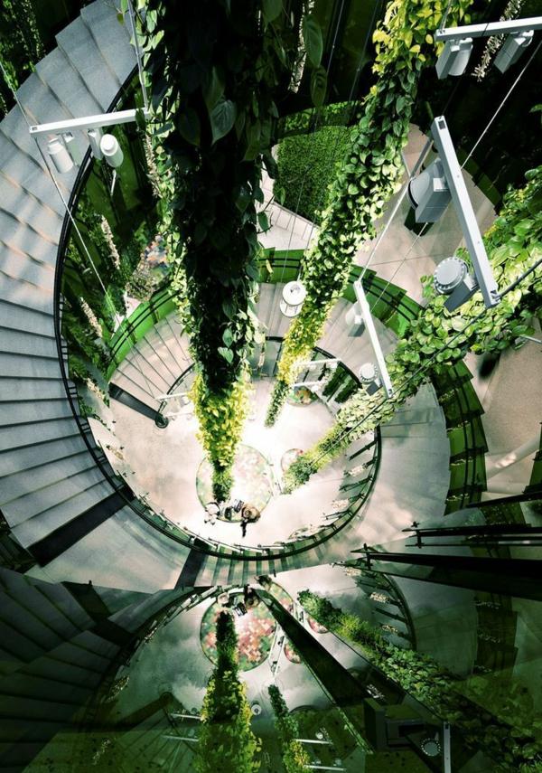aménagement-organique-plantes-vertes-lierre