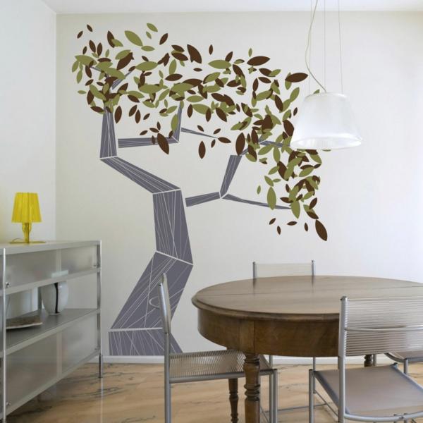 stickers-chambre-adulte-ambiance-calme-intérieur-meubles-table-chaises-sticker-arbre-branches