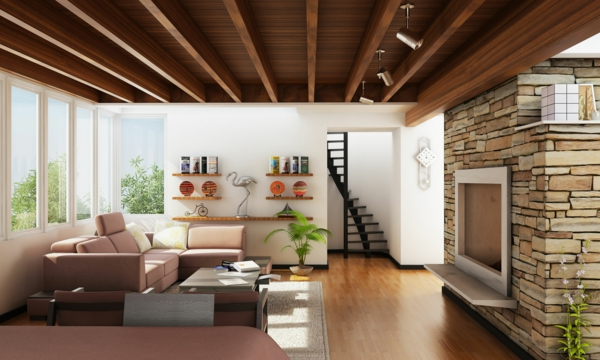 pierre-de-parement-intérieur-ambiance-de-salle-de-séjour-jolie-pierre-de-parement-intérieur-mur-intérieur