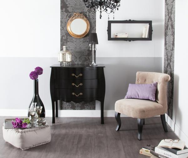 ambiance-inspiration-chambre-luxe0fleurs-jolie-chaise-coussins-violet
