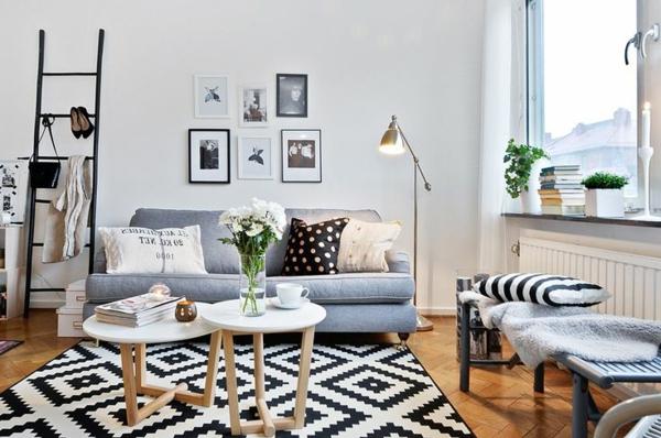 echelle-etagere-ambiance-jolie-décoration-de-chambre-originelle
