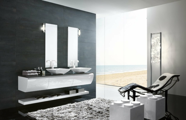 d co salle de bain zen. Black Bedroom Furniture Sets. Home Design Ideas