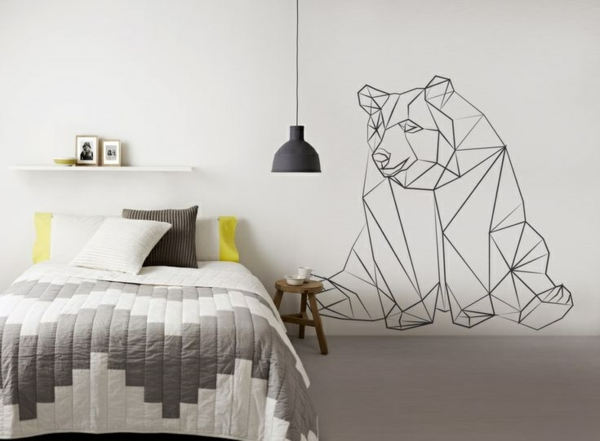 stickers-chambre-adulte-ambiance-stickers-chambre-adulte-ourse-moderne-chambre-lit-coussins-chambre-ado