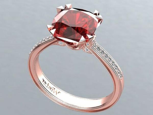 bague-rubis-anneau-de-mariage-rouge-or-rose-et-pierre-précieux