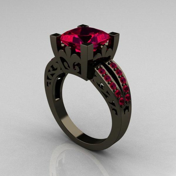 anneau-original-noir-et-ruouge