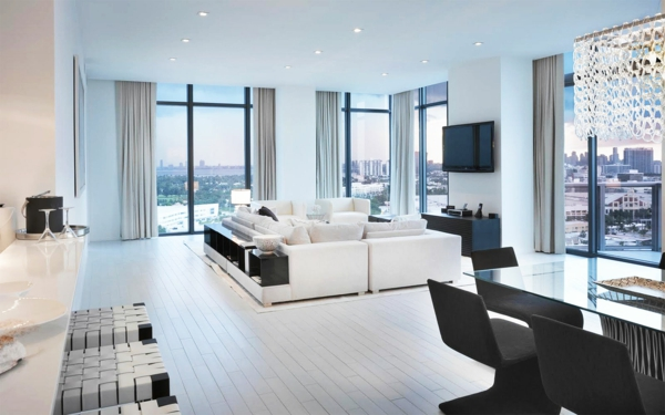 les appartements new yorkais. Black Bedroom Furniture Sets. Home Design Ideas
