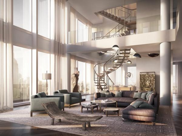 appartement-à-louer-vaste-à-new-york-luxe-deux-étages