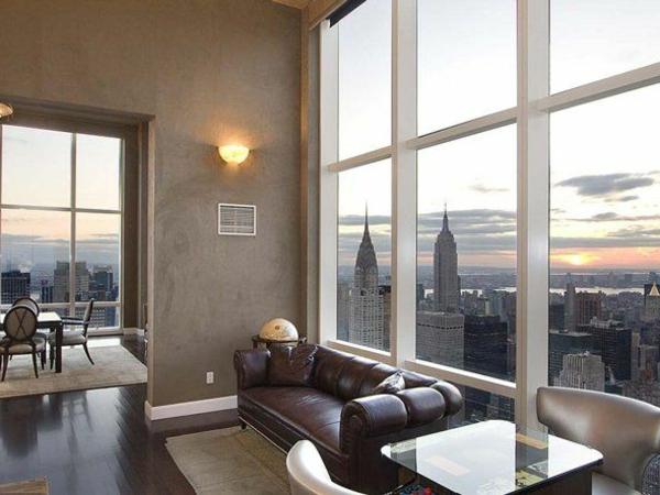 appartement-new-yorkais-décoration-du-salon-grand-fenetr-intérieur