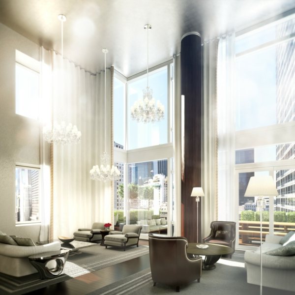 Les appartements new yorkais for Decoration lumineuse interieur