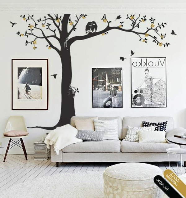 Stickers chambre adulte lesquels choisir for Idee deco mur chambre adulte