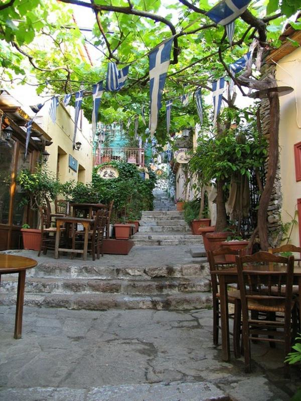 architecture-Grèce-belle-rue