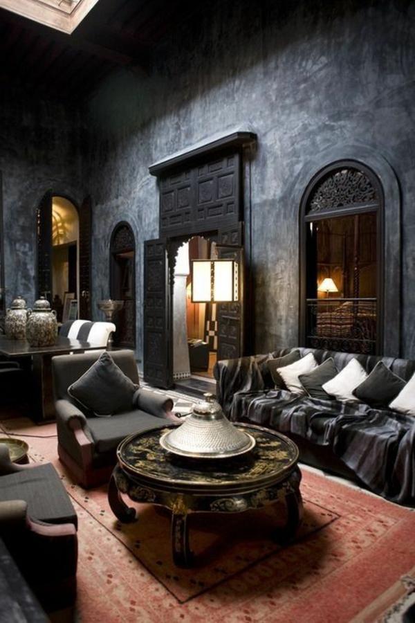 L architecture gothique pour votre demeure - Decorations de salons gothiques ...