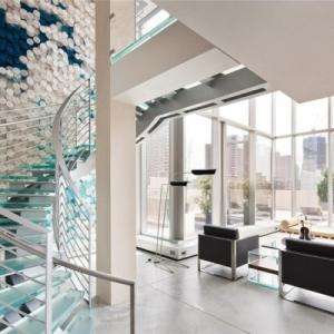 Les escaliers colimaçons - modernes ou vintages, toujours fonctionnels