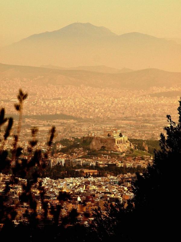 athènes-grecque-vue-belle-acropole