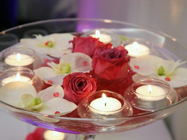 bougie-fleurs-roses