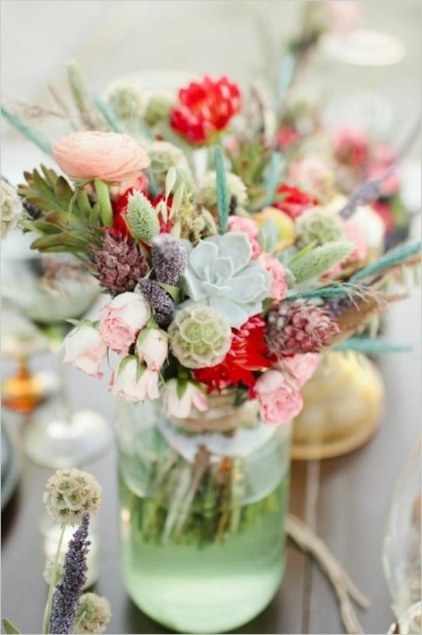 bouquet-coloré-table