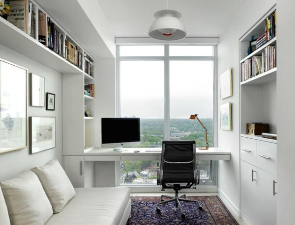 bureau-moderne-à-la-maison-intérieur-blanc