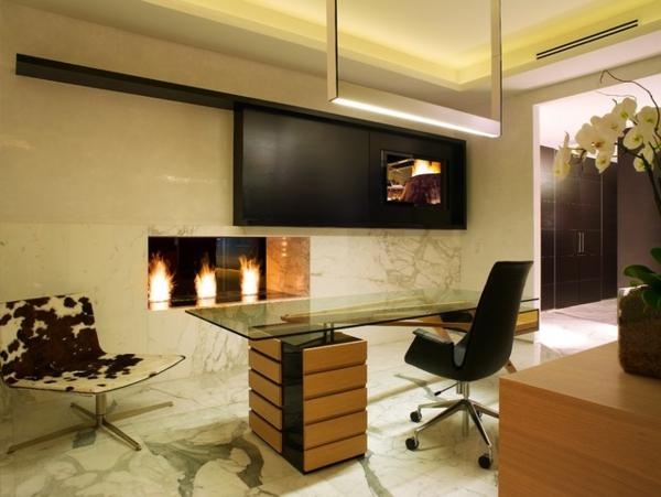 bureau-moderne-avec-foyer-mural