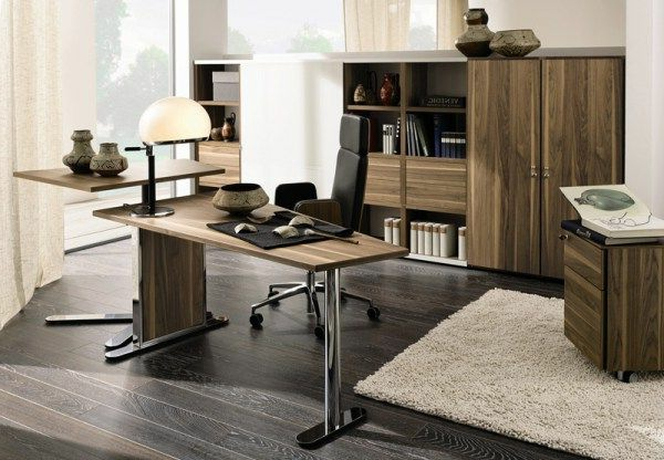 bureau bois moderne travail debout accueil design et mobilier. Black Bedroom Furniture Sets. Home Design Ideas