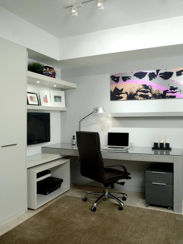 bureau-moderne-intérieur-élégant-en-blanc-bureau-suspendu