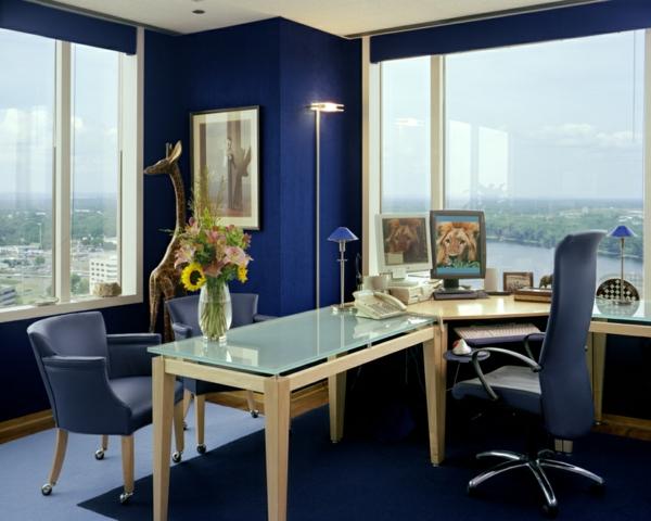 bureau-moderne-intérieur-bleu-superbe