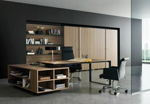 Bureau moderne à la maison  idées créatives