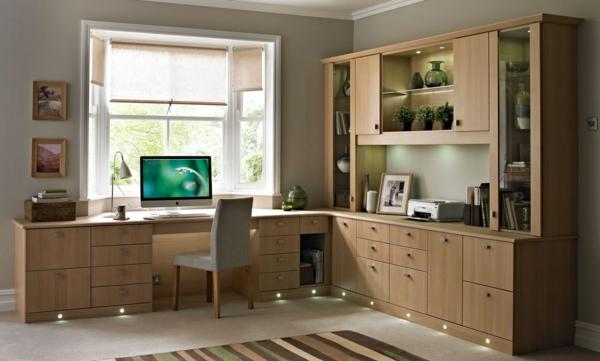 bureau-moderne-mobilier-élégant-en-bois