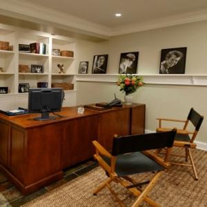 Bureau moderne à la maison - idées créatives