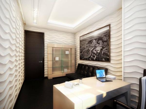 bureau-moderne-office-vintage-spectaculaire-à-la-maison